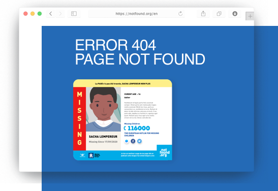 page with 404 page
